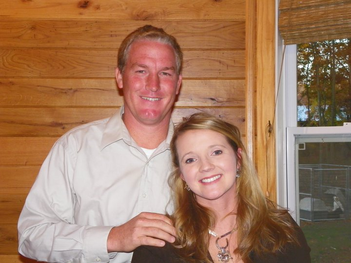 David Adams and wife, Heidi Adams
